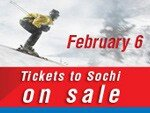 Sale of air tickets for flights to winter Sochi is on February 6