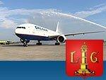 ORENAIR выполнила первый рейс из Москвы в Льеж